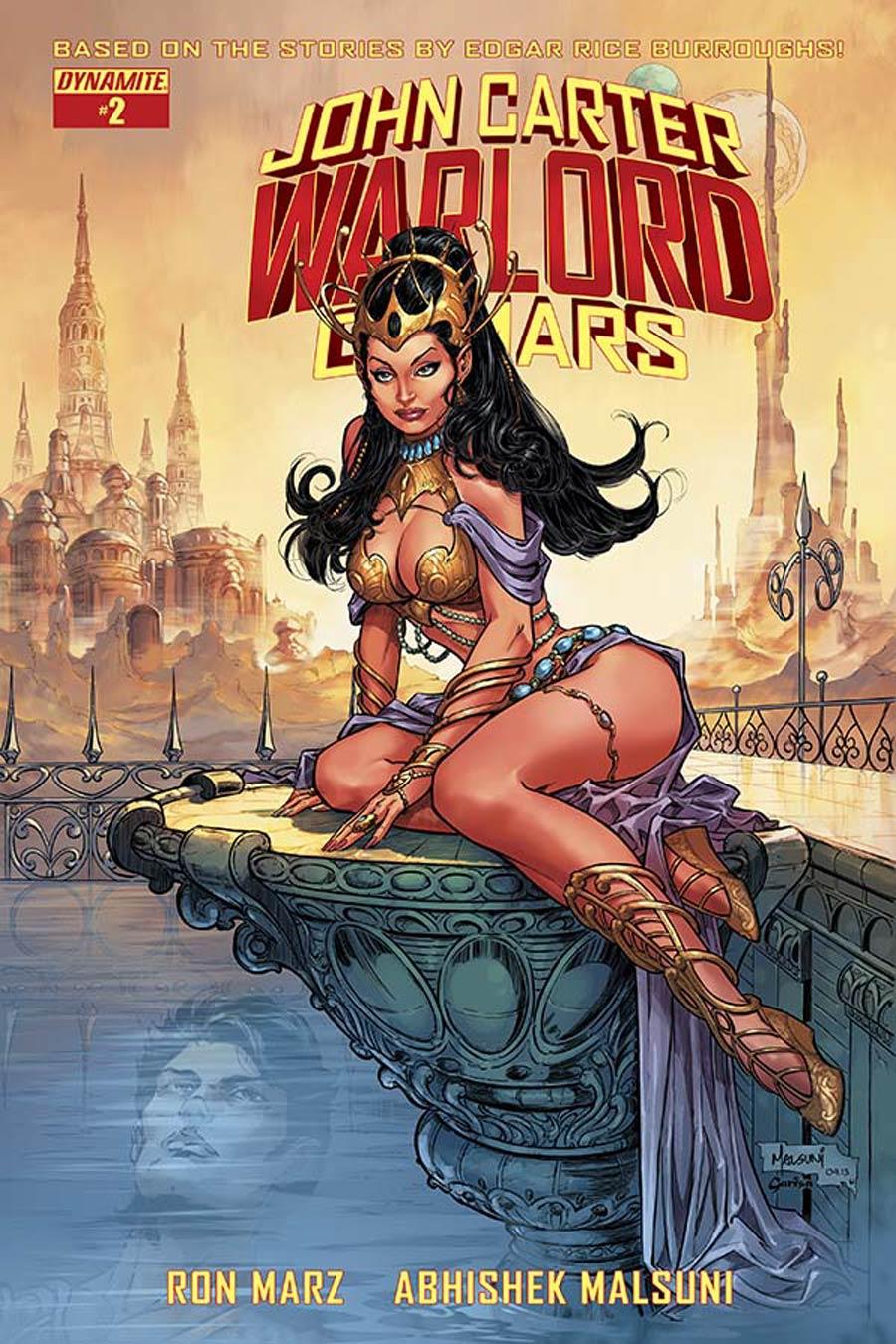 John Carter Warlord Of Mars Vol 2 #2 Cover D Variant Abhishek Malsuni Subscription Cover