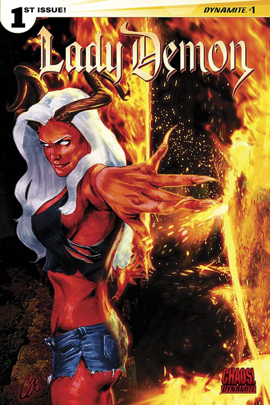 Lady Demon Vol 2 #1 Cover D Variant Cat Staggs Cover