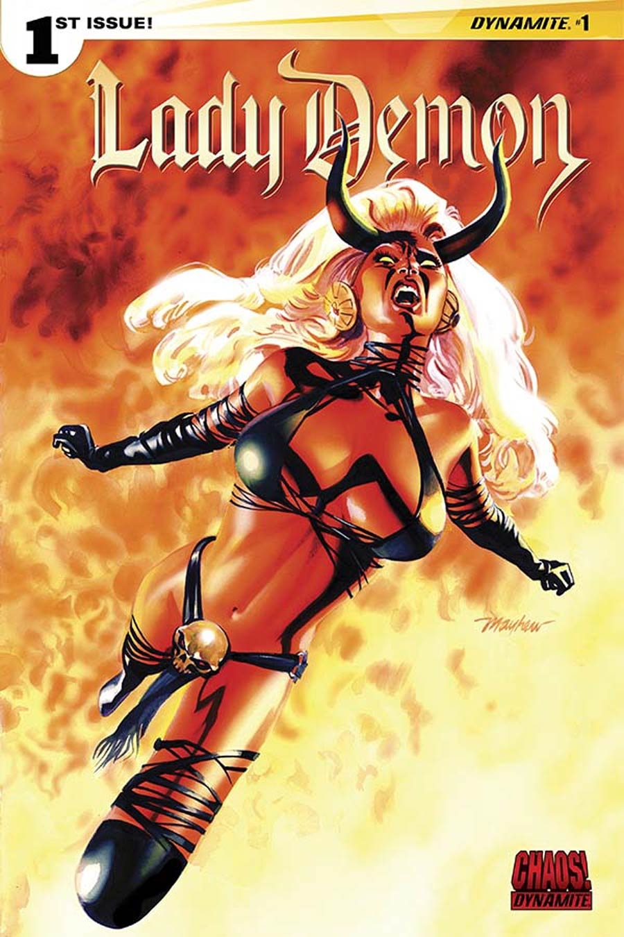 Lady Demon Vol 2 #1 Cover F Variant Mike Mayhew Subscription Cover
