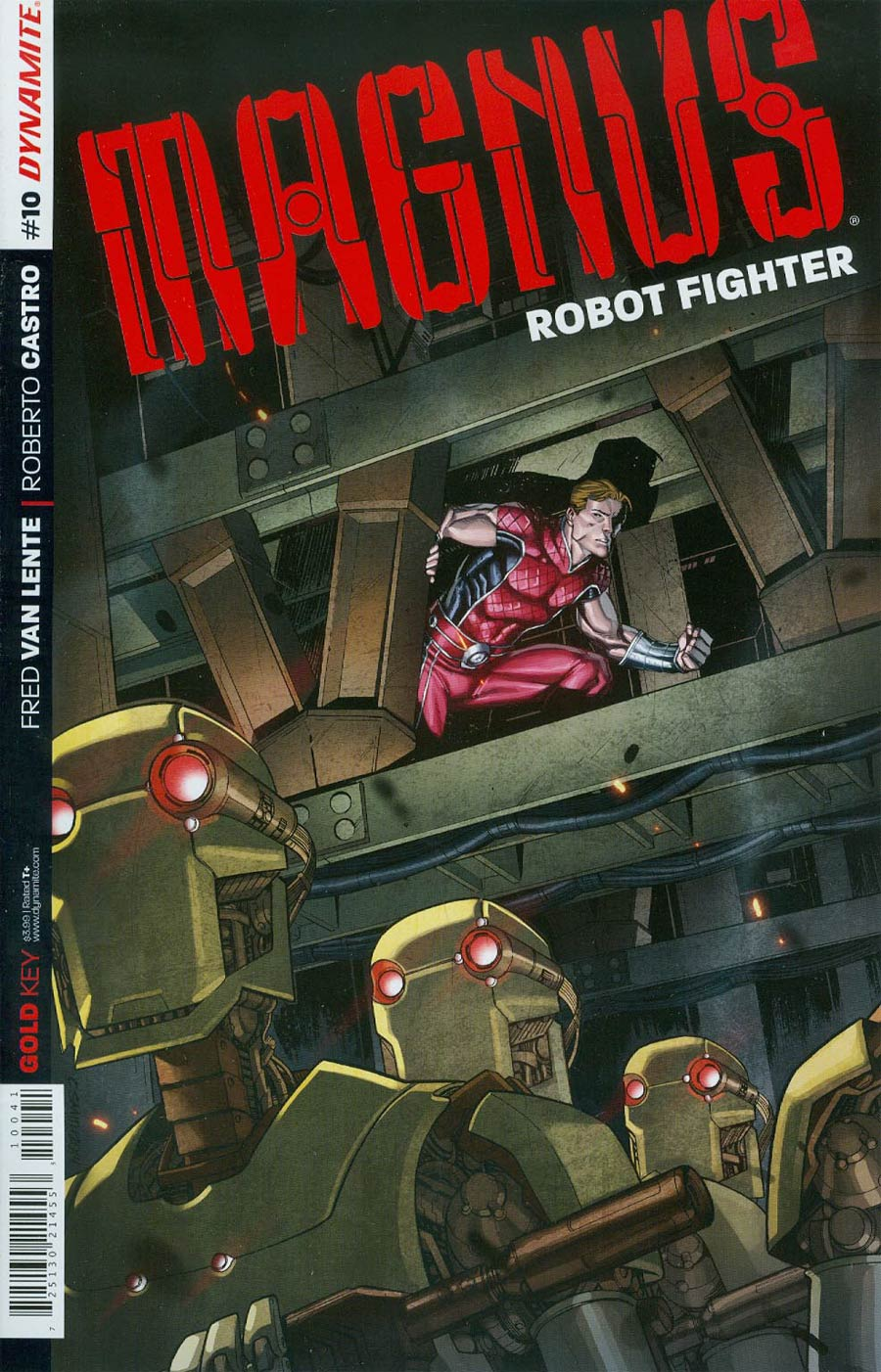 Magnus Robot Fighter Vol 4 #10 Cover B Variant Cory Smith Subscription Cover