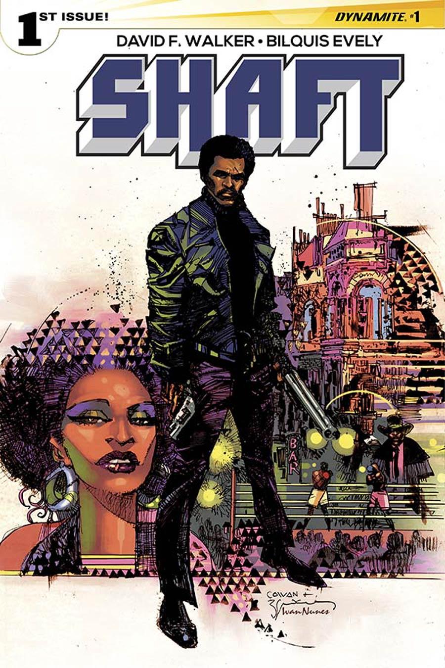 Shaft #1 Cover A Regular Dennis Cowan Cover