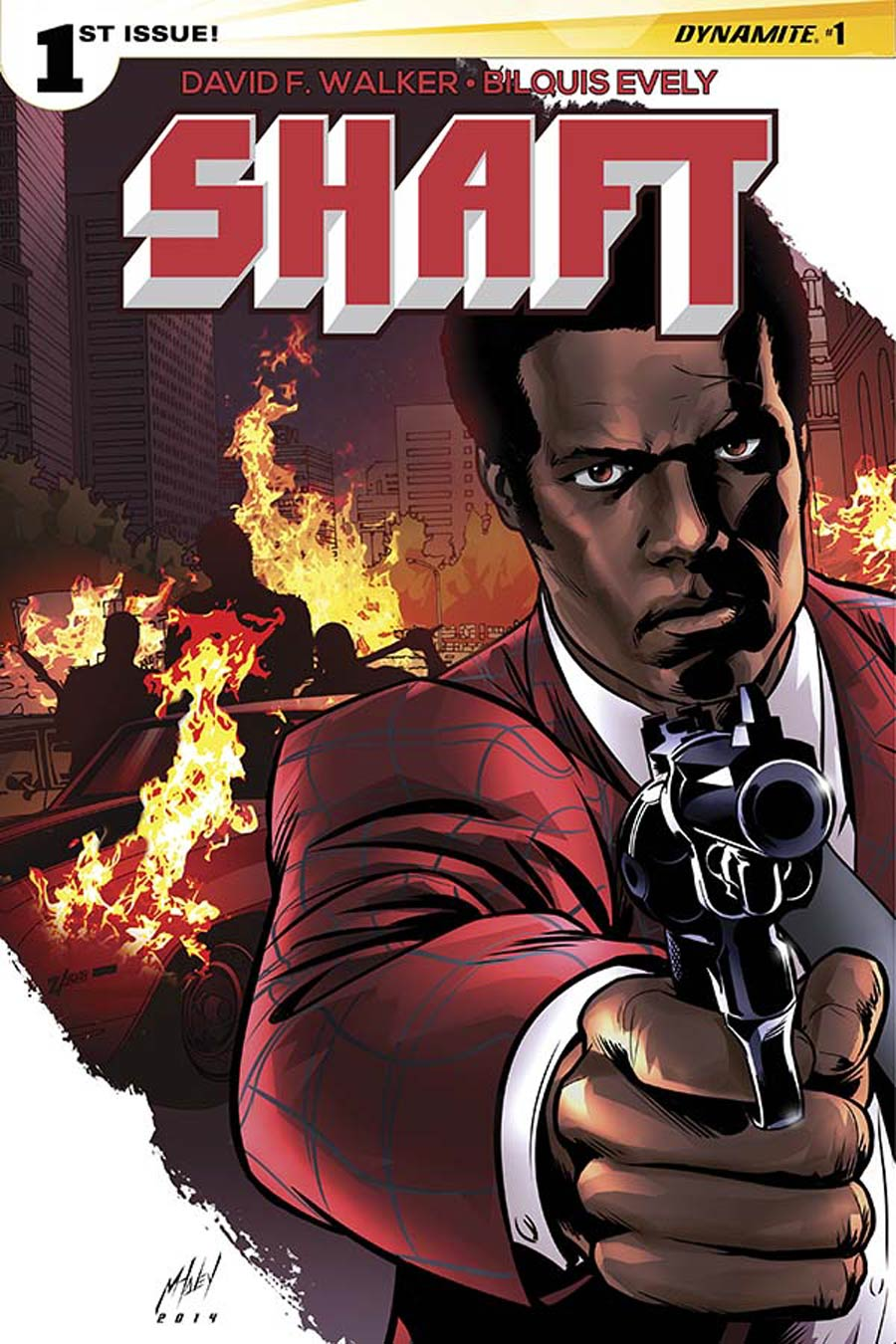 Shaft #1 Cover E Variant Matt Haley Cover
