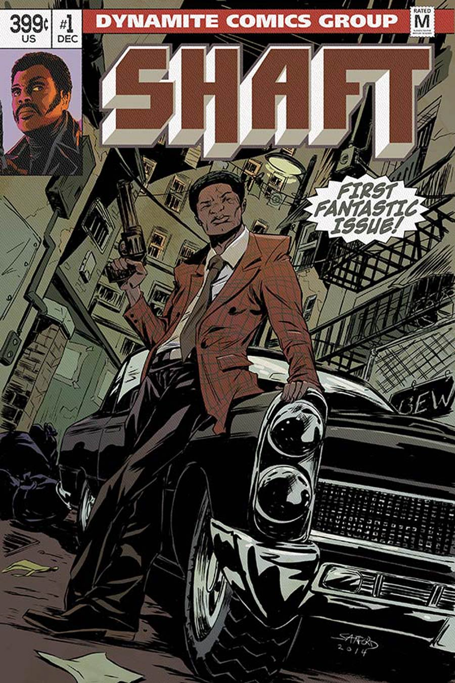 Shaft #1 Cover F Variant Sanford Greene Subscription Cover