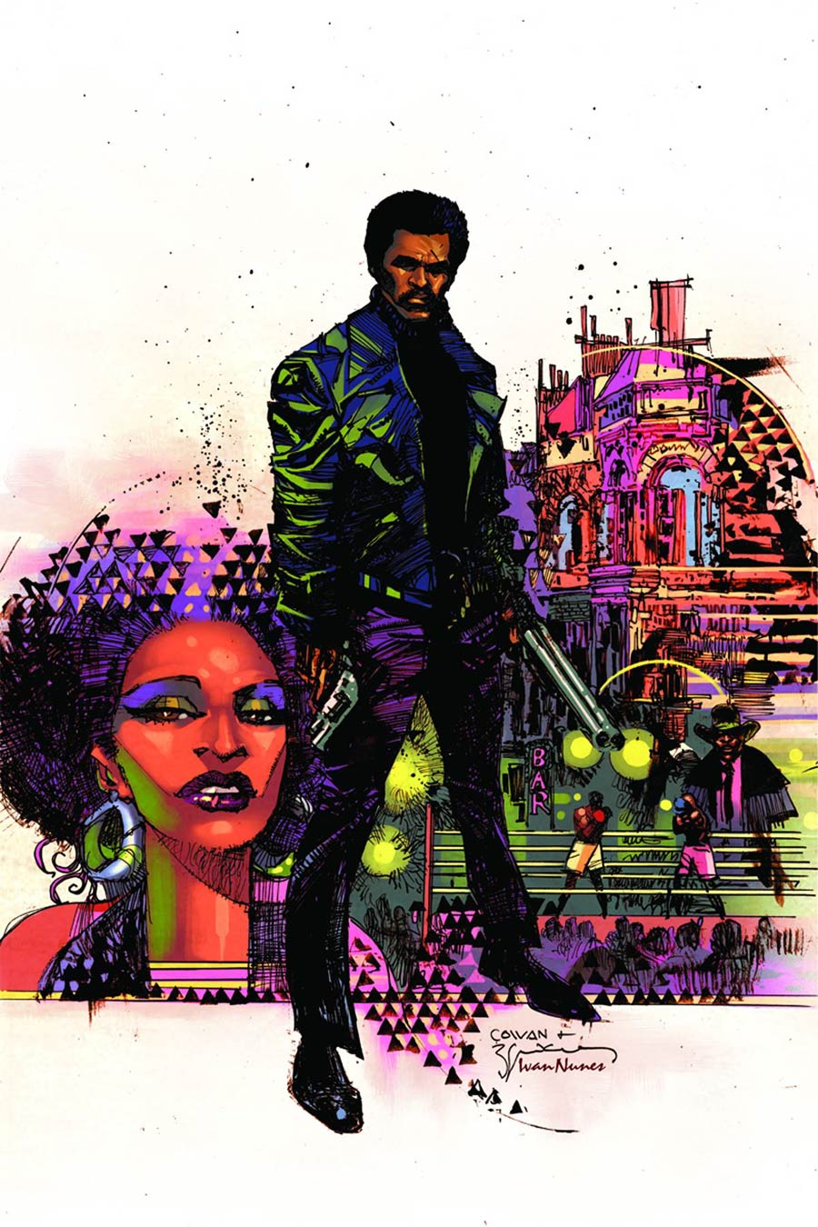 Shaft #1 Cover K Rare Dennis Cowan Virgin Cover