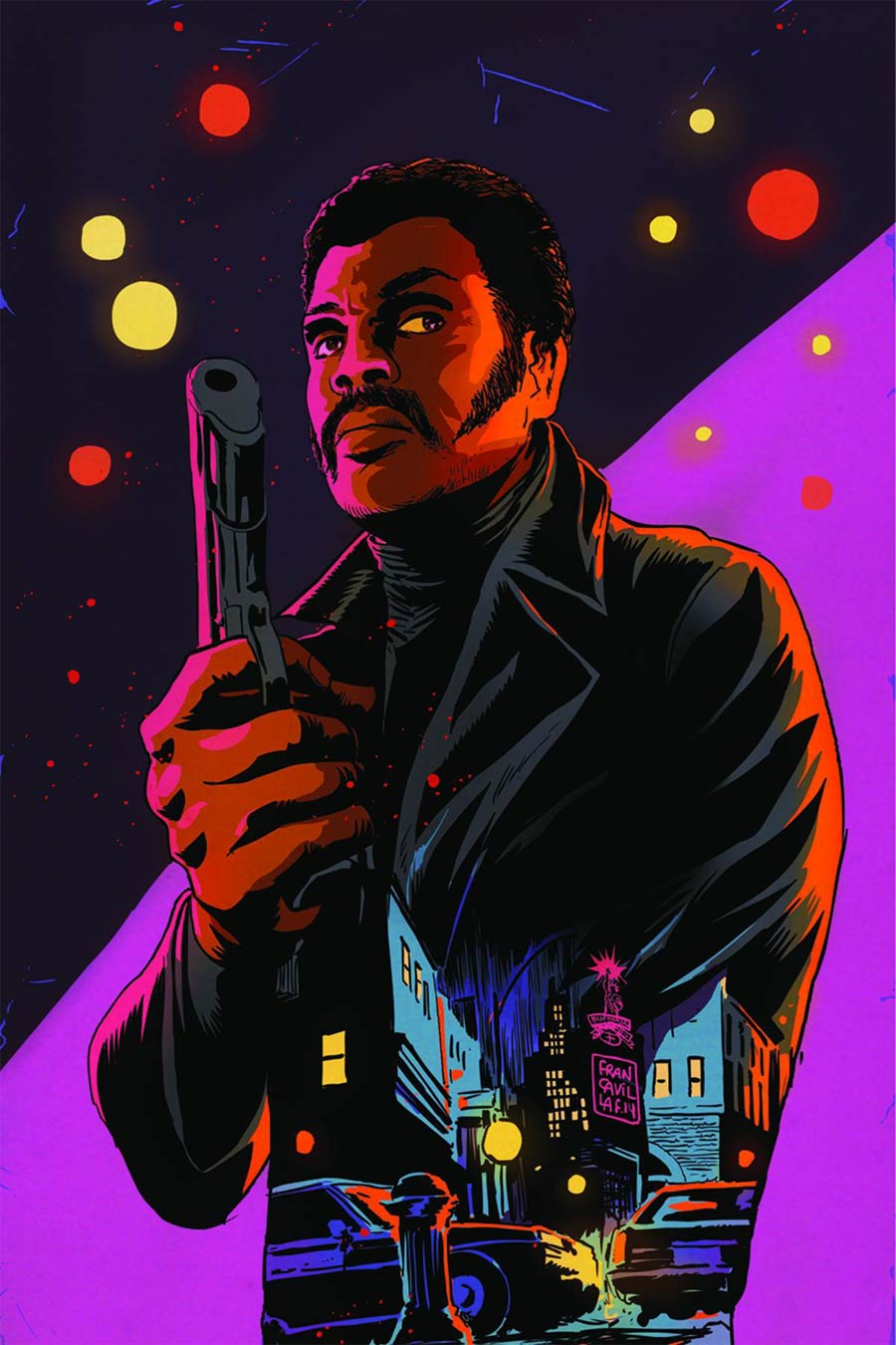 Shaft #1 Cover M Rare Francesco Francavilla Virgin Cover