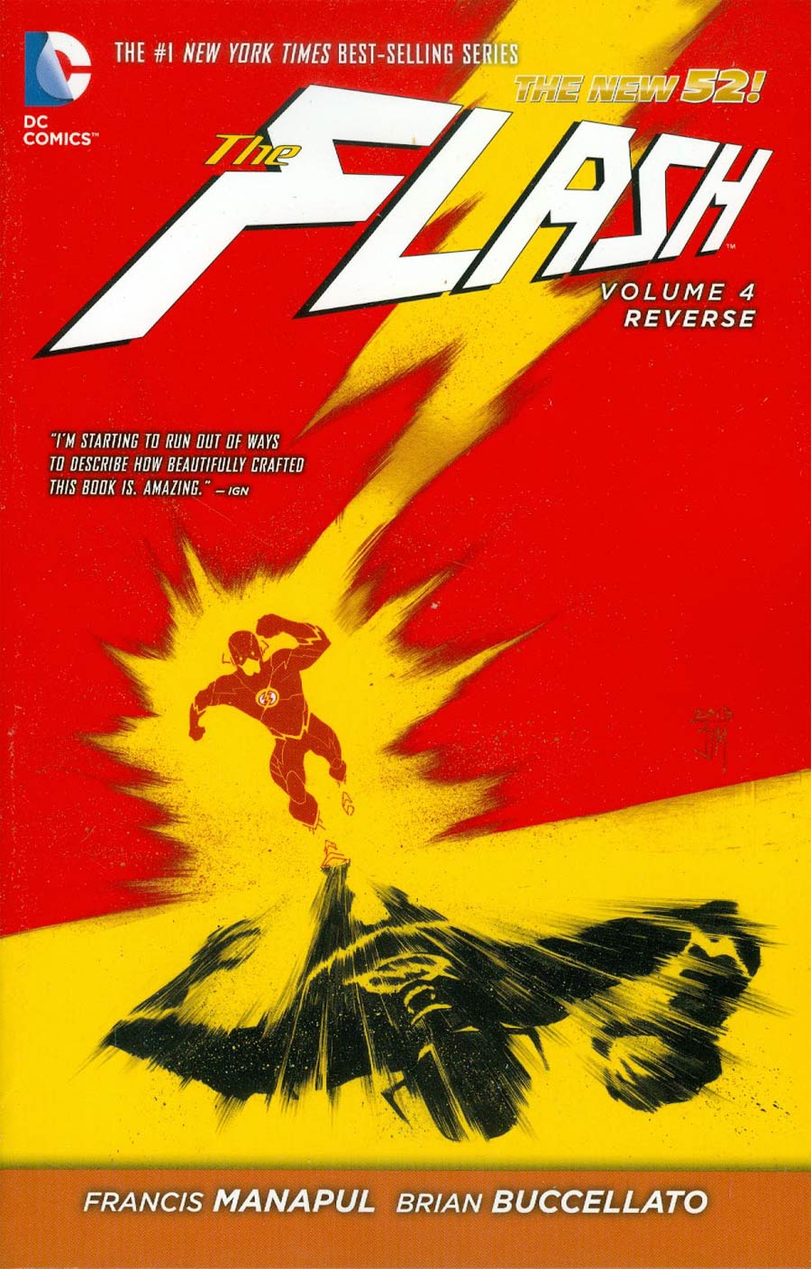 Flash (New 52) Vol 4 Reverse TP