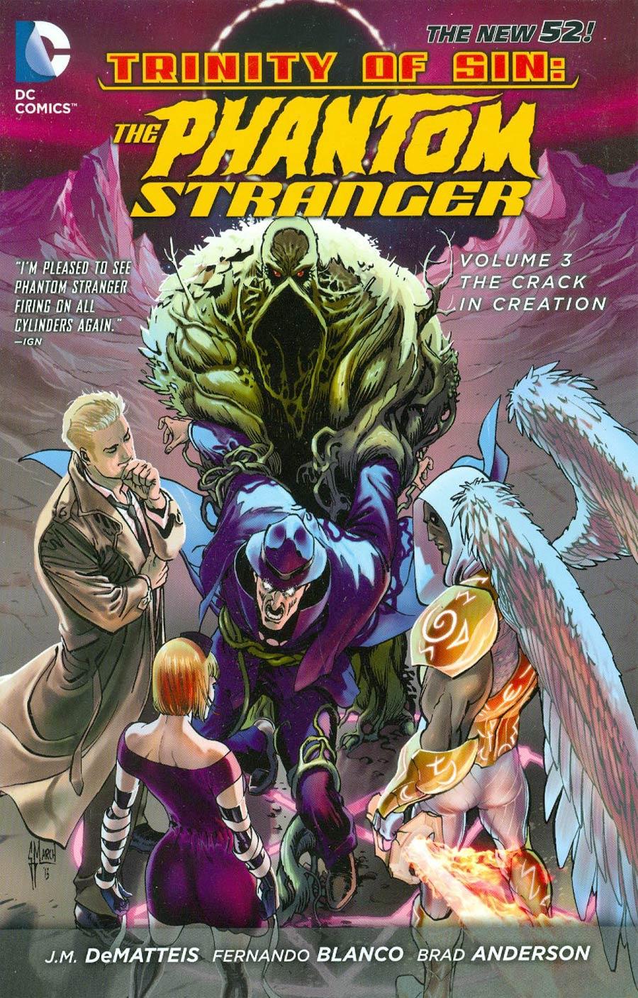 Trinity Of Sin Phantom Stranger (New 52) Vol 3 Crack In Creation TP