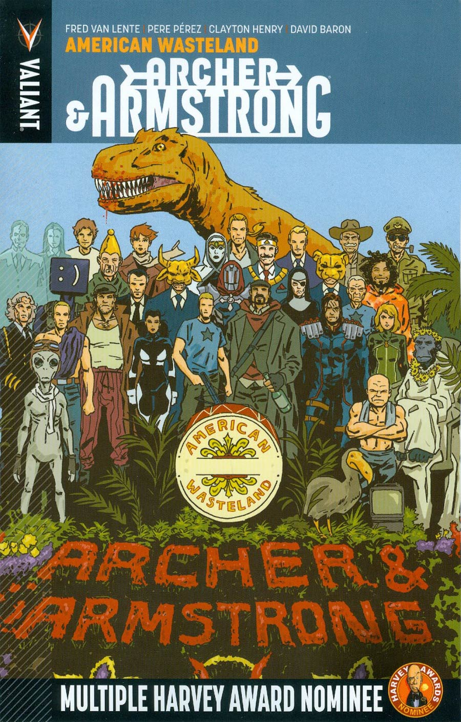 Archer & Armstrong Vol 6 American Wasteland TP