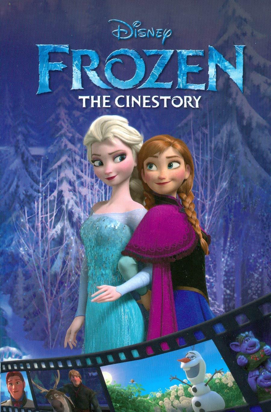 Disneys Frozen Cinestory Vol 1 TP