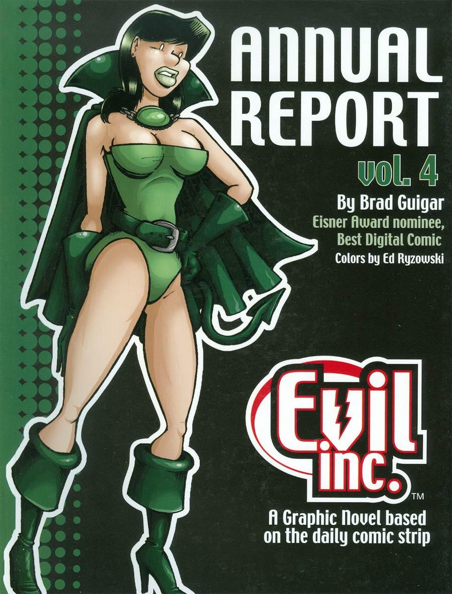 Evil Inc Annual Report Vol 4 TP