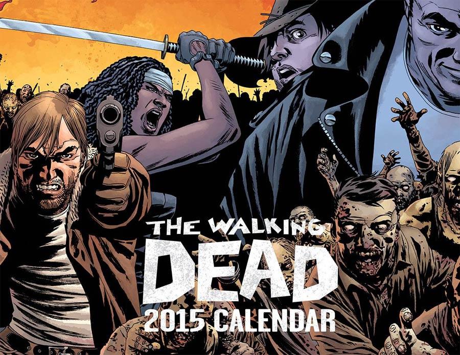 Walking Dead 2015 Calendar