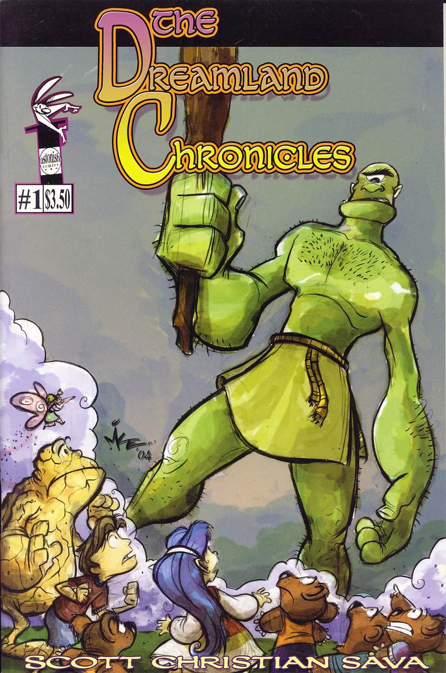 Dreamland Chronicles #1 Cover B Mike Kunkel