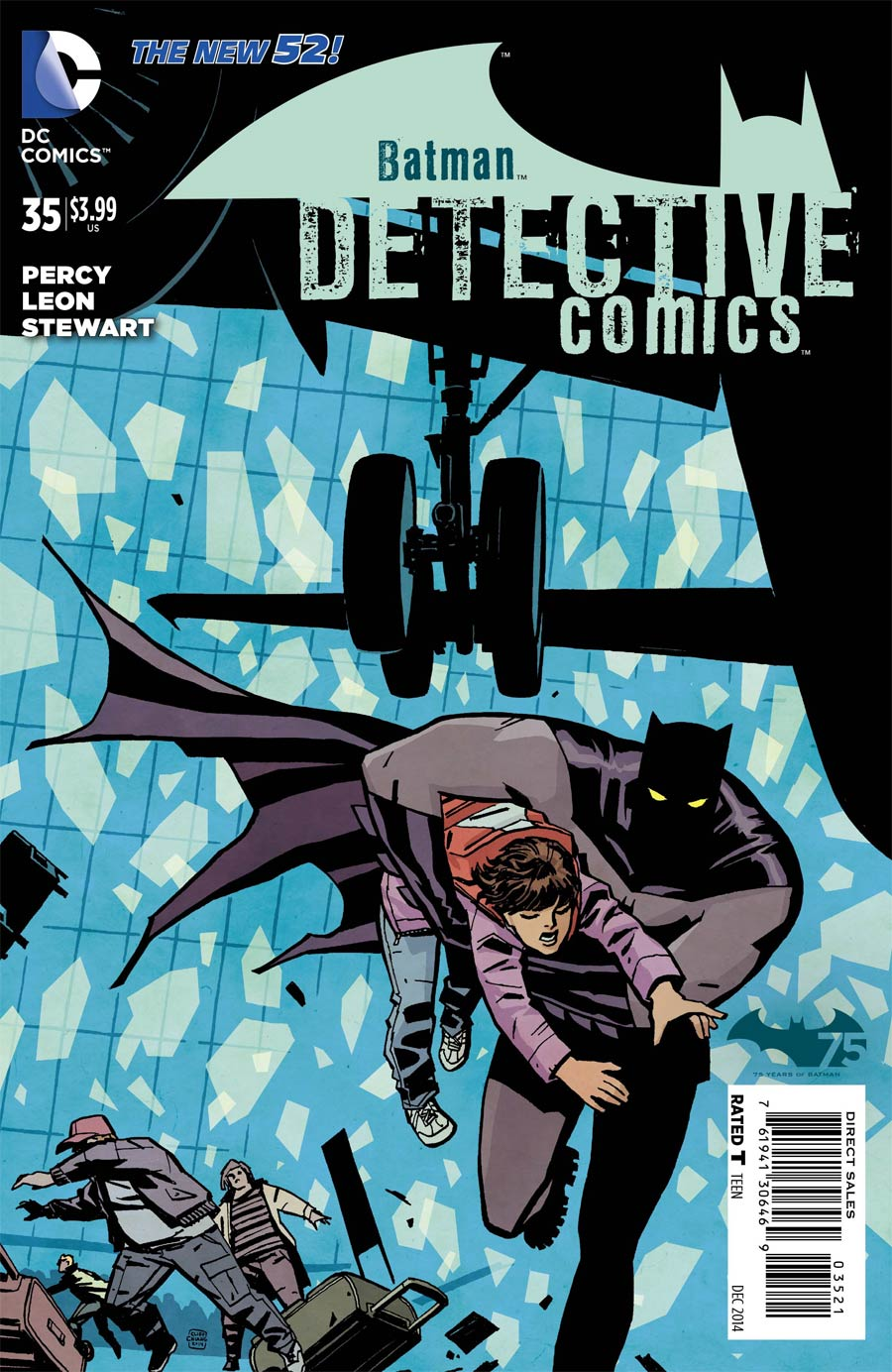 Detective Comics Vol 2 #35 Cover E Incentive Cliff Chiang Variant Cover
