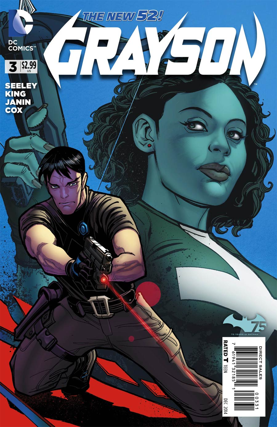 Grayson #3 Cover C Incentive Clay Mann Variant Cover