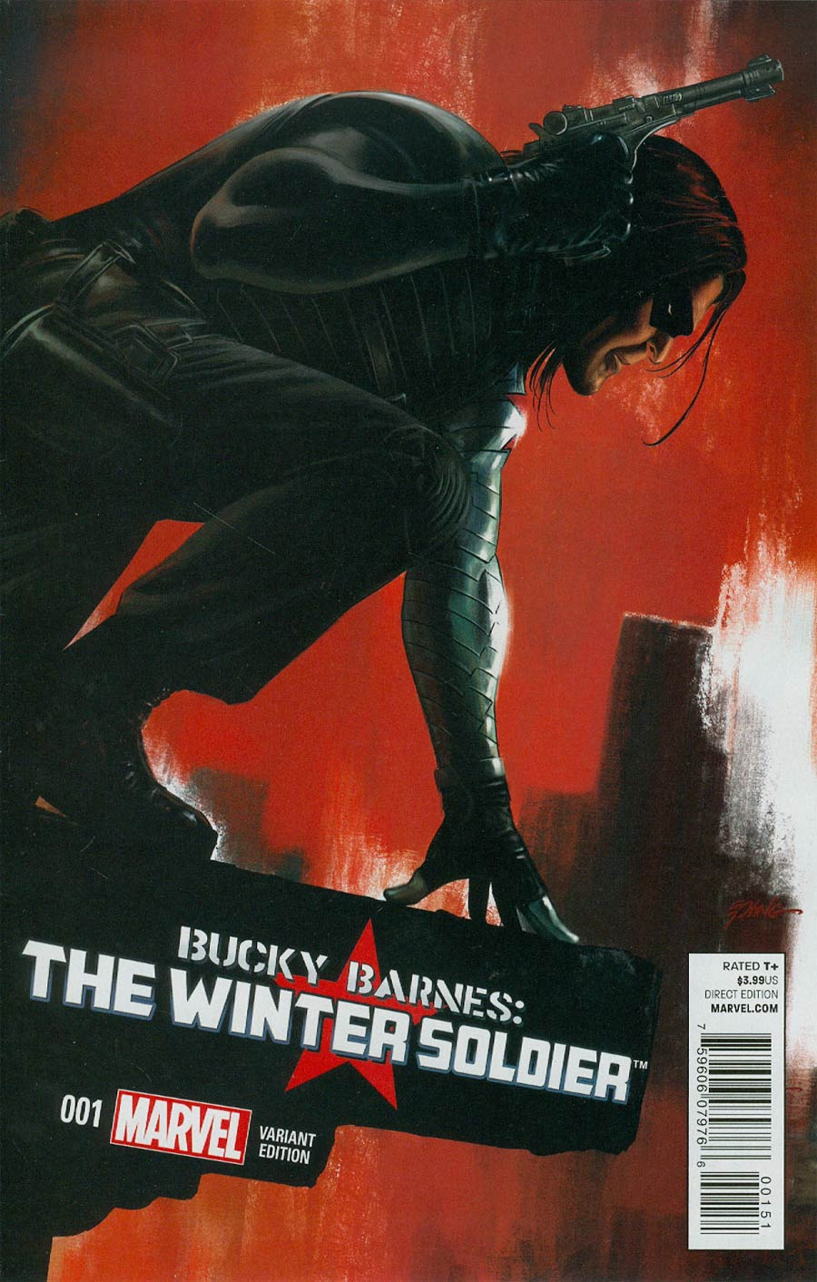 Bucky Barnes Winter Soldier #1 Cover E Incentive Steve Epting Artist Variant Cover