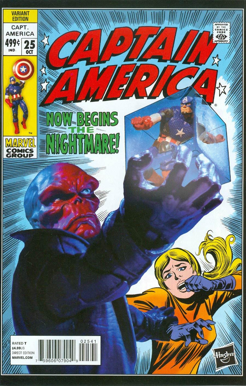 Captain America Vol 7 #25 Cover B Incentive Hasbro Variant Cover