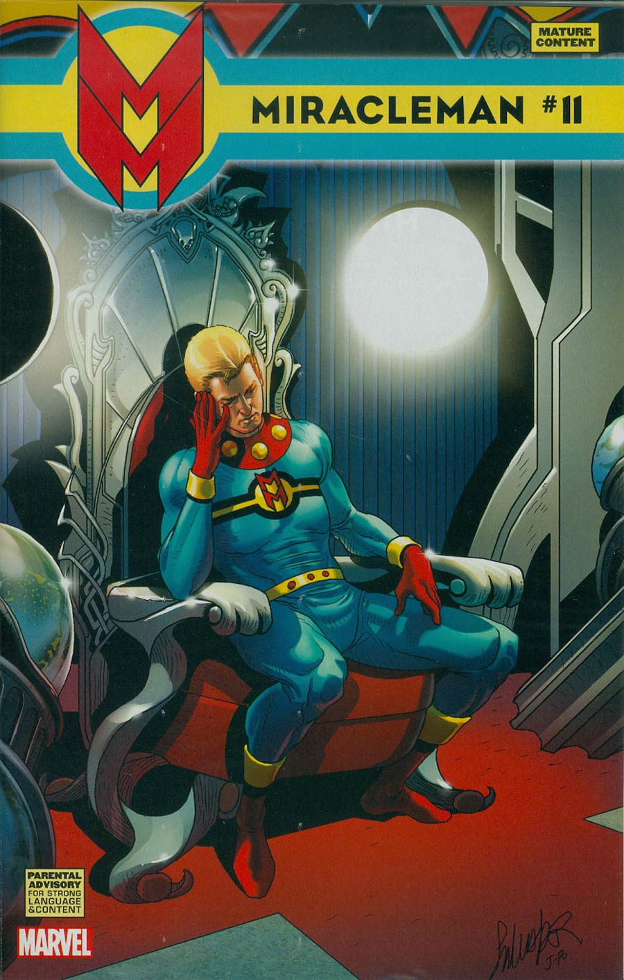 Miracleman (Marvel) #11 Cover C Incentive Salvador Larroca Variant Cover With Polybag