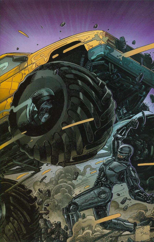 Robocop 2014 #4 Cover B Incentive Carlos Magno Virgin Variant Cover