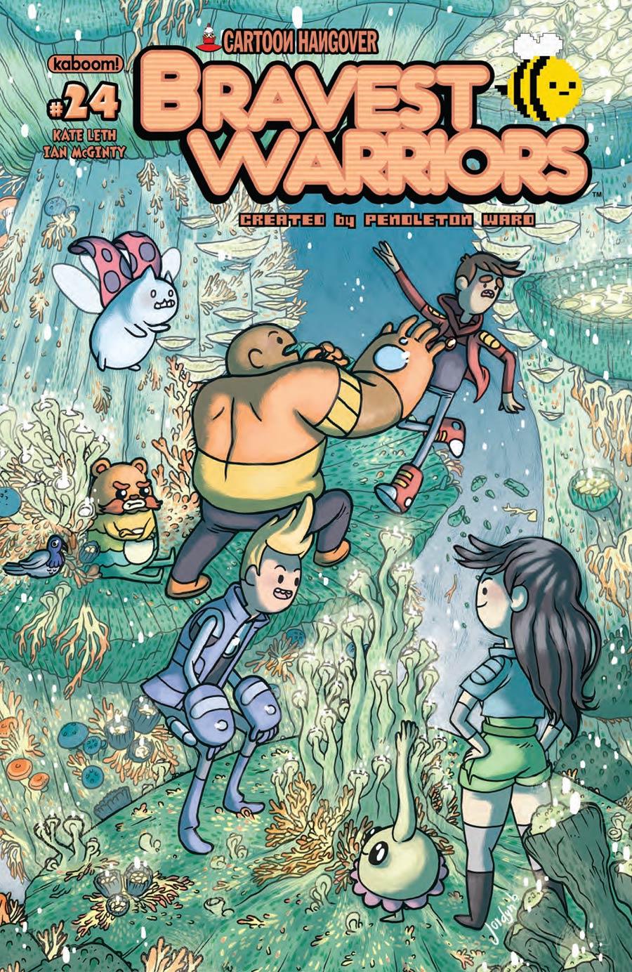 Bravest Warriors #24 Cover B Regular Jordyn Bochon Cover