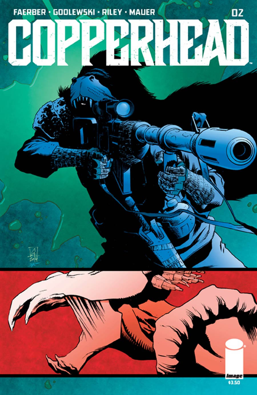Copperhead #2 Cover A 1st Ptg