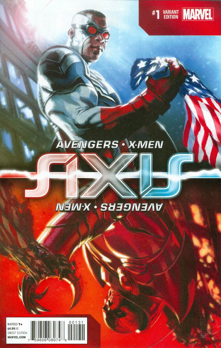 Avengers & X-Men AXIS #1 Cover G Incentive Inversion Variant Cover