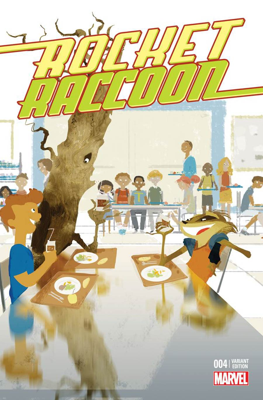 Rocket Raccoon Vol 2 #4 Cover C Incentive Stomp Out Bullying Variant Cover