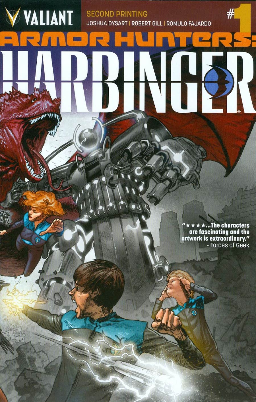Armor Hunters Harbinger #1 Cover F 2nd Ptg