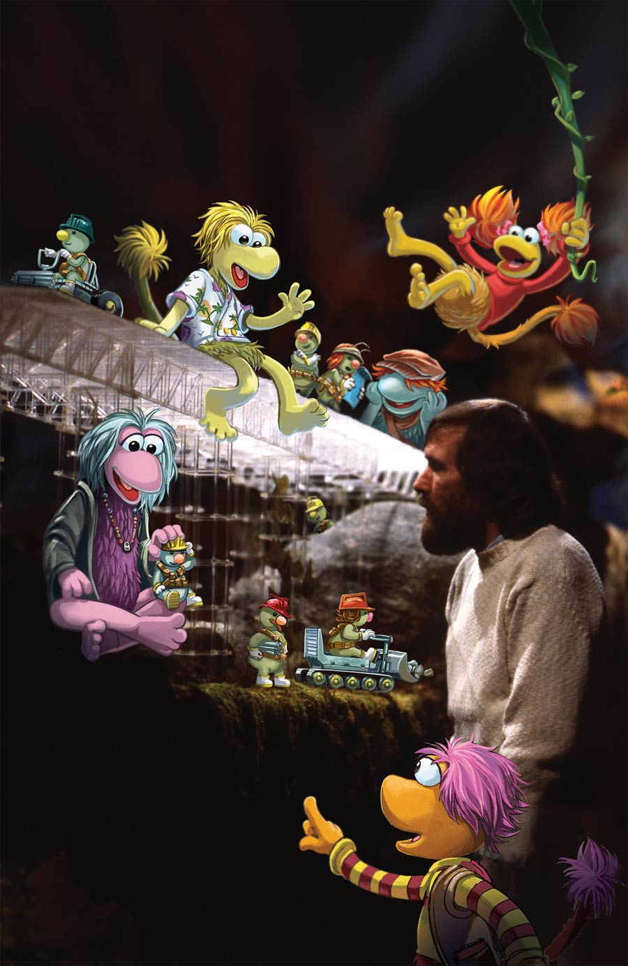 Fraggle Rock Journey To The Everspring #1 Cover B Incentive Jake Myler And The Jim Henson Archives Variant Cover
