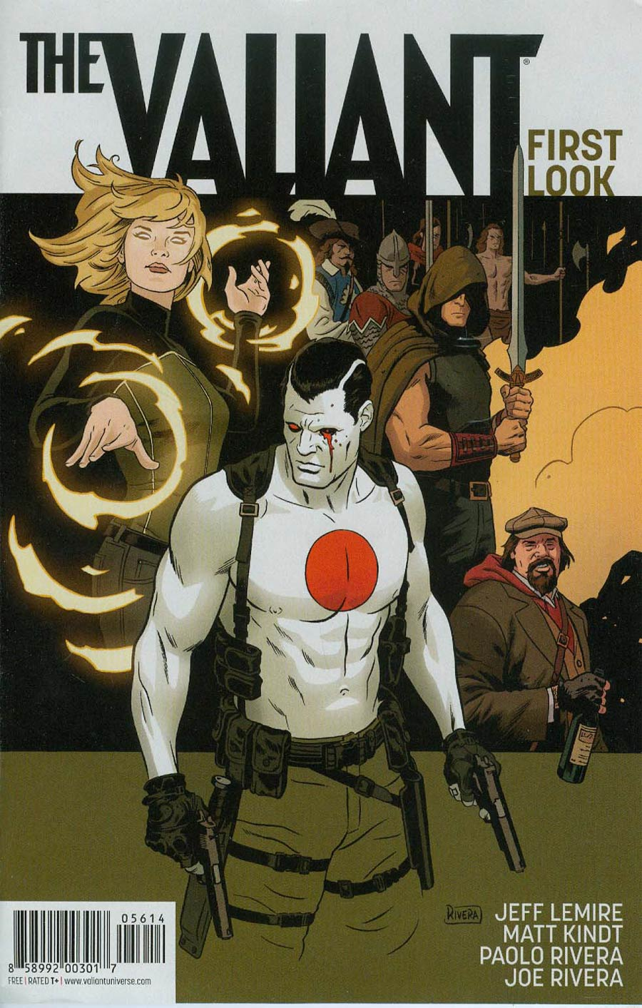 Valiant First Pullbox Preview The Valiant First Look