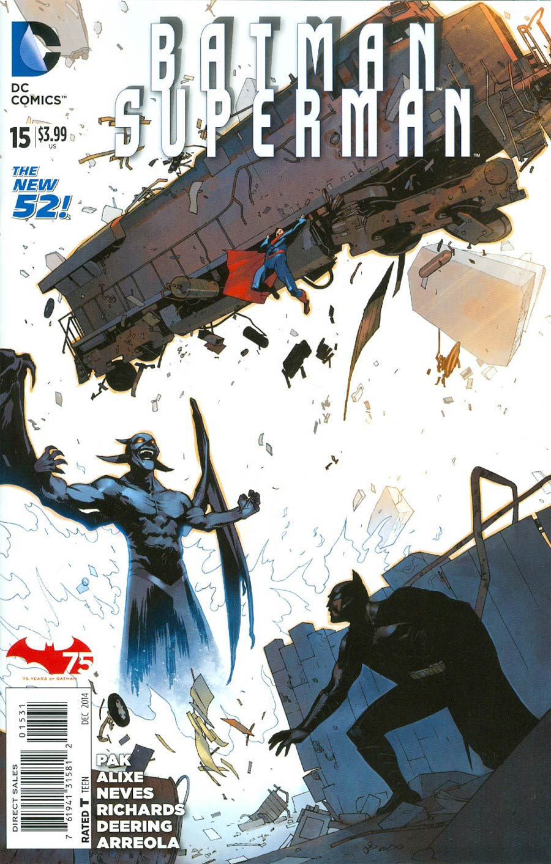 Batman Superman #15 Cover E Incentive Bengal Variant Cover