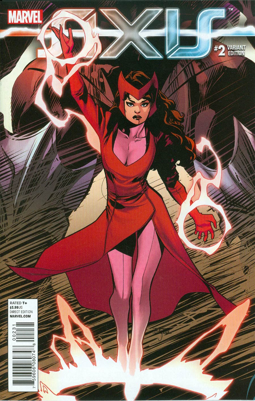 Avengers & X-Men AXIS #2 Cover B Incentive Mahmud Asrar Young Guns Variant Cover