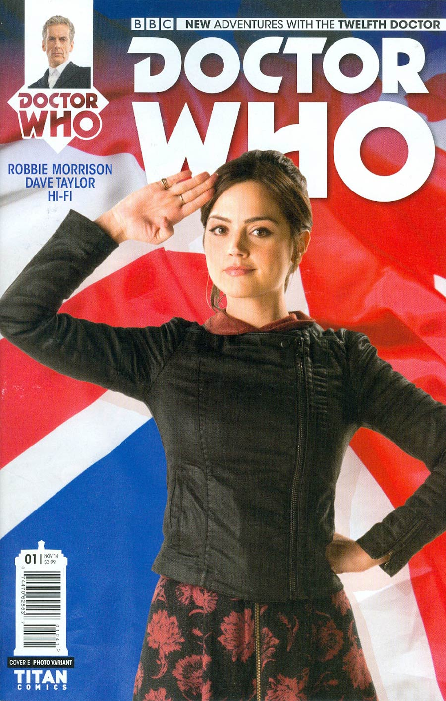 Doctor Who 12th Doctor #1 Cover F Incentive Clara Photo Variant Cover