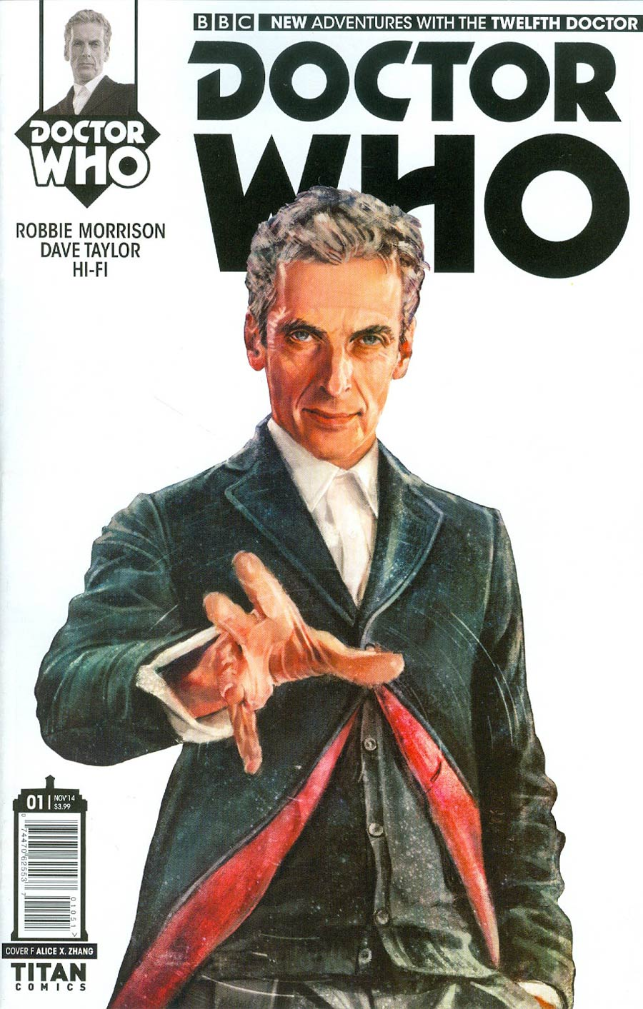 Doctor Who 12th Doctor #1 Cover G Incentive Alice X Zhang Stark Variant Cover