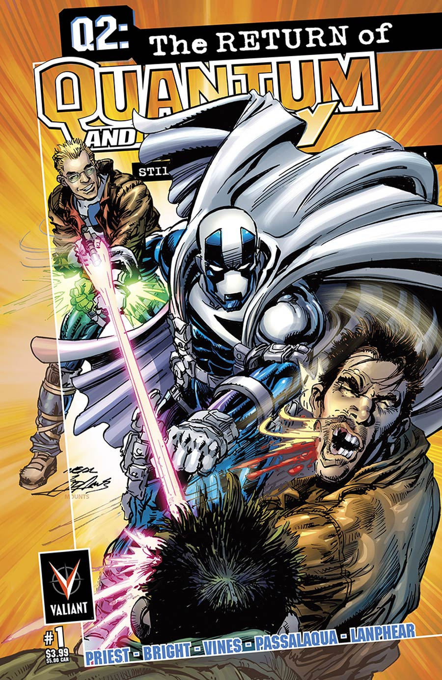 Q2 Return Of Quantum & Woody #1 Cover E Incentive Neal Adams Variant Cover