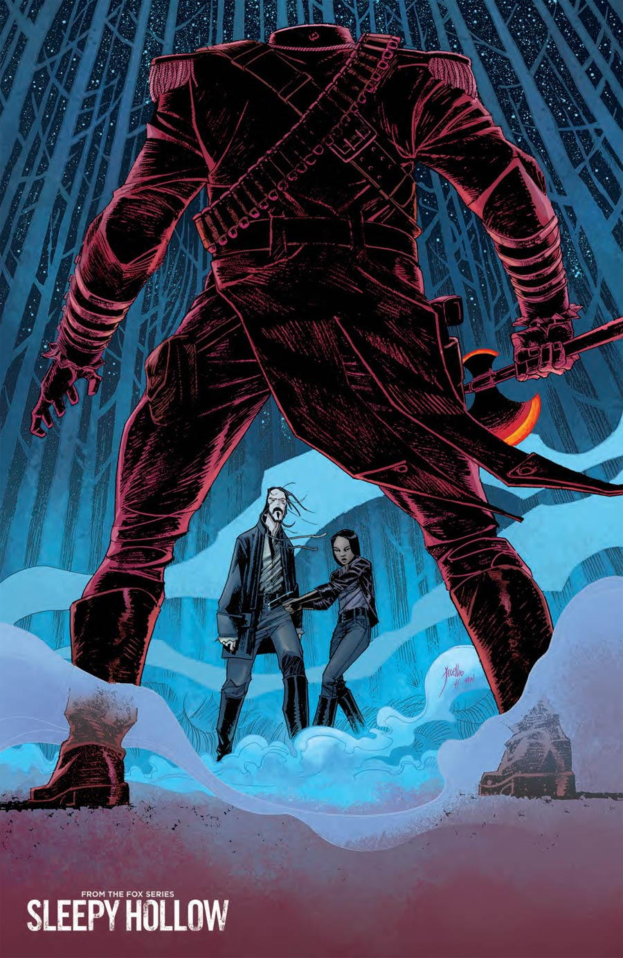 Sleepy Hollow #1 Cover B Incentive Jorge Coelho Virgin Variant Cover