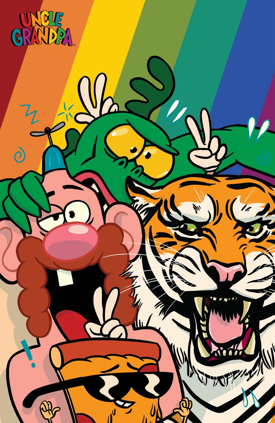 Uncle Grandpa #1 Cover C Incentive Chris McD Virgin Variant Cover