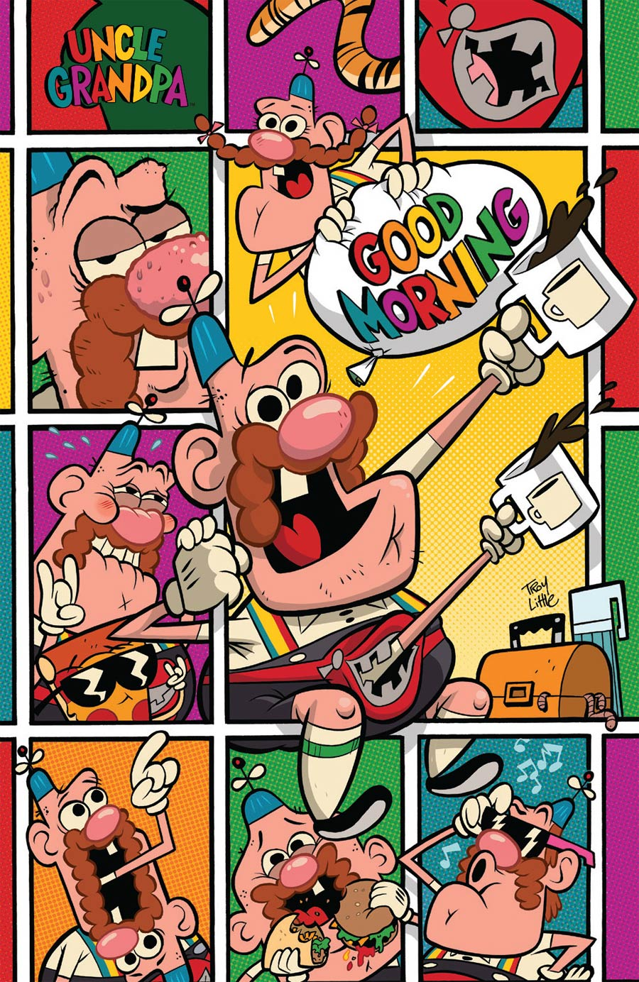 Uncle Grandpa #1 Cover D Incentive Troy Little Virgin Variant Cover