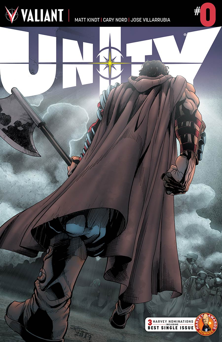 Unity Vol 2 #0 Cover B Incentive ChrisCross Variant Cover