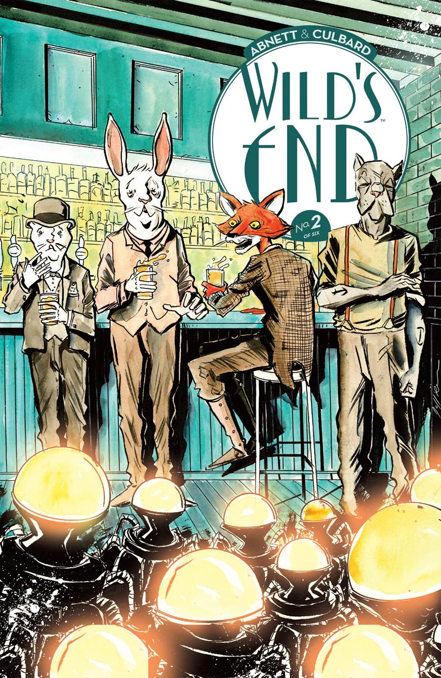 Wilds End #2 Cover B Variant Jeff Lemire Cover