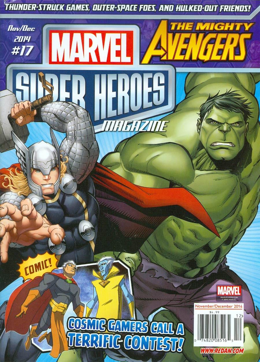 Marvel Super-Heroes Magazine #17