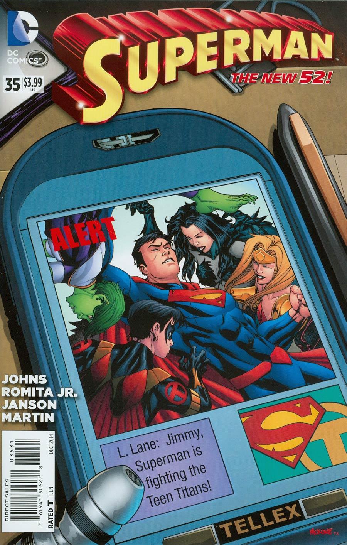 Superman Vol 4 #35 Cover E Incentive Mike McKone Variant Cover