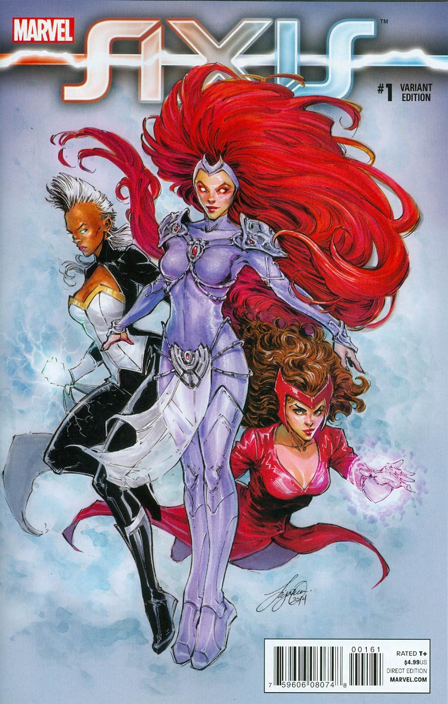 Avengers & X-Men AXIS #1 Cover E Incentive Siya Oum Variant Cover