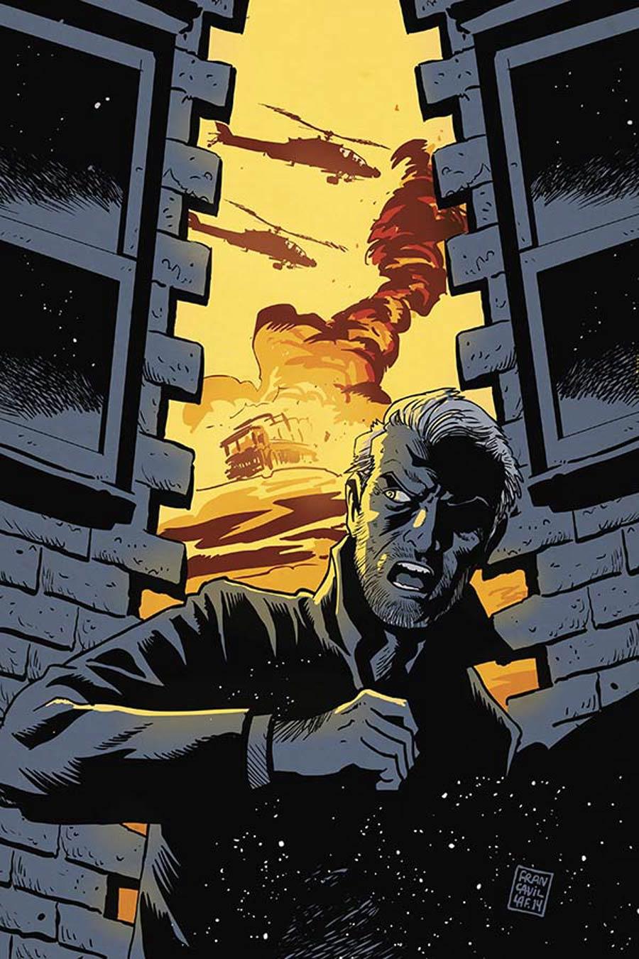 Twilight Zone Vol 5 #9 Cover B Incentive Francesco Francavilla Virgin Cover