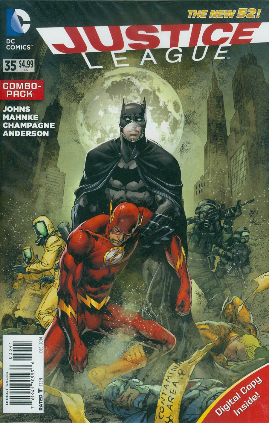Justice League Vol 2 #35 Cover D Combo Pack Without Polybag