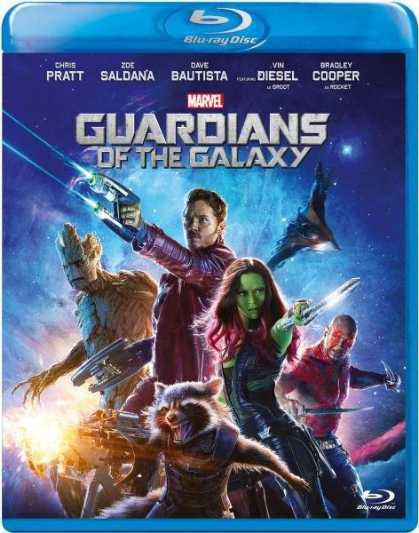 Guardians Of The Galaxy Blu-ray DVD