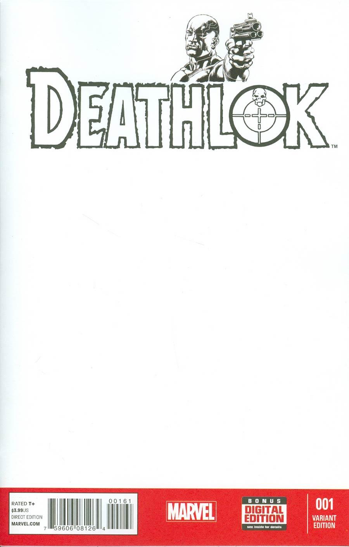 Deathlok Vol 5 #1 Cover C Variant Blank Cover