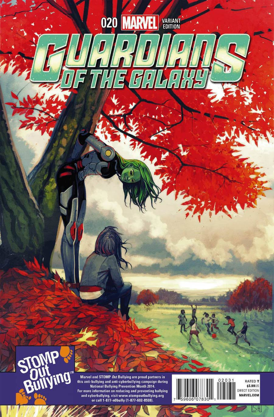 Guardians Of The Galaxy Vol 3 #20 Cover C Incentive Stomp Out Bullying Variant Cover