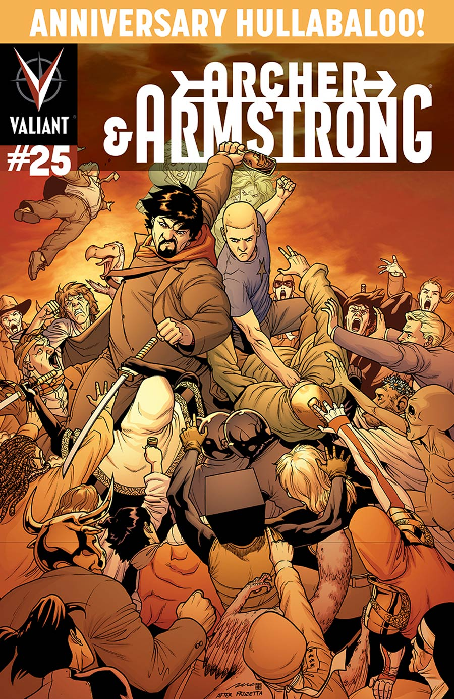 Archer & Armstrong Vol 2 #25 Cover C Incentive Pere Perez Variant Cover