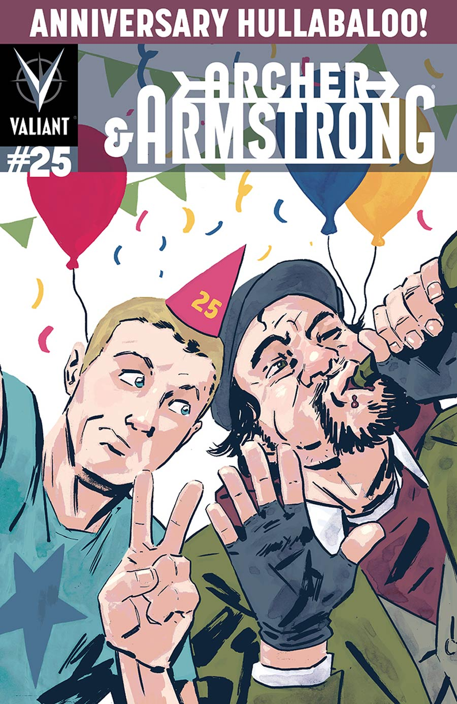Archer & Armstrong Vol 2 #25 Cover E Incentive Michael Walsh Variant Cover