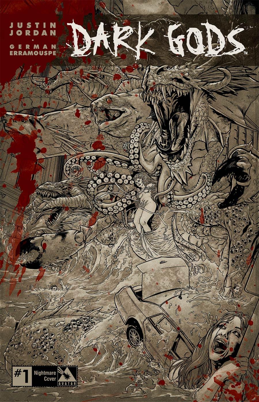 Dark Gods #1 Cover E Incentive Nightmare Cover